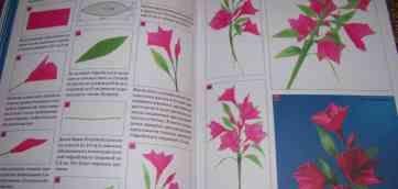 Цветы колокольчики из гофрированной бумаги своими руками
